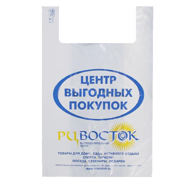 Пакет майка РЦ Восток 350/240*660 купить оптом и в розницу
