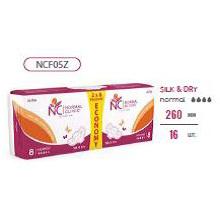 Ультратонкие прокладки для критических дней NORMAL cliniс ″COMFORT″ - silk & dry - 4 капли, 260 мм, 16шт купить оптом и в розницу