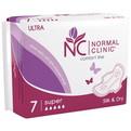 Прокладки женские ультратонкие NORMAL cliniс ″COMFORT″ - silk & dry - 5 капель, 280 мм, 7шт купить оптом и в розницу