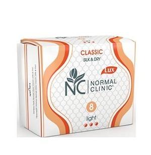 Прокладки женские ультратонкие NORMAL cliniс ″COMFORT″ - silk&dry - 3 капли, 240 мм, 10шт купить оптом и в розницу
