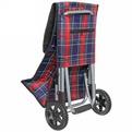 Тележка хозяйственная с сумкой SYD-010Z (86*31*25см, колеса 14см, грузоподъемность до 25 кг.) купить оптом и в розницу