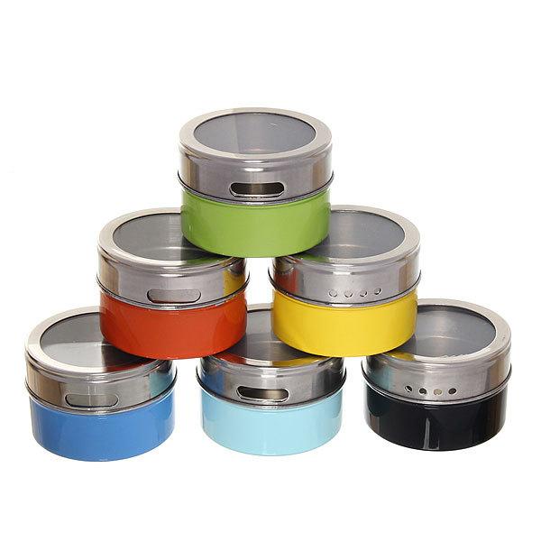 Набор для специй на магните 6 шт треугольный цветной купить оптом и в розницу