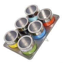 Набор для специй на магните 6 шт MT-6FO1 цветной купить оптом и в розницу