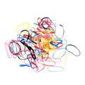 Резинки силиконовые для волос 60шт ″Зонтик″, цвет микс купить оптом и в розницу