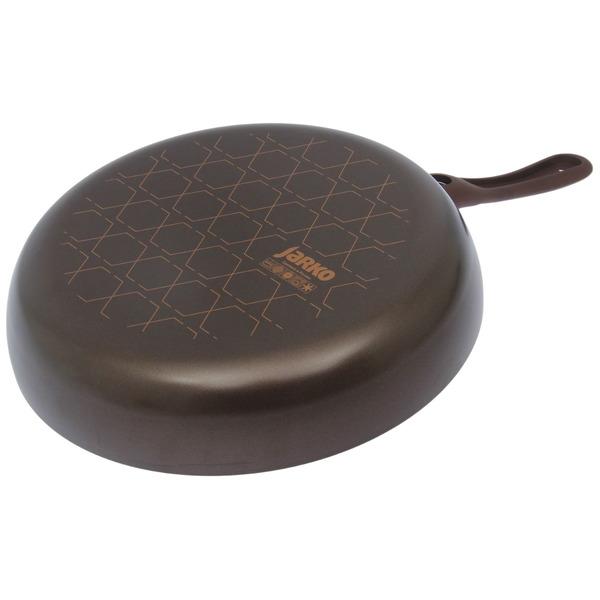 Сковорода COMPLIMENT 28 см со стеклянной крышкой купить оптом и в розницу