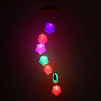 Музыка ветра ″Цветок-2″ 7 шт на батарейках купить оптом и в розницу