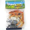 Набор животных 1toy Т50465 Дикие купить оптом и в розницу