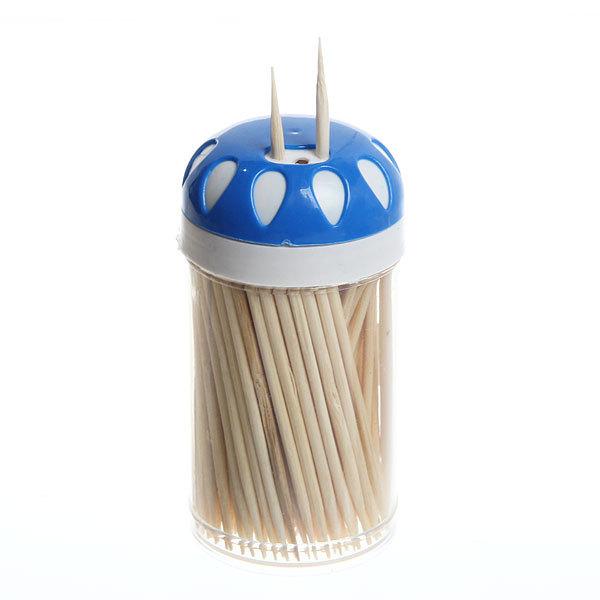Зубочистки 150шт ″Капли″ в пластиковой банке купить оптом и в розницу