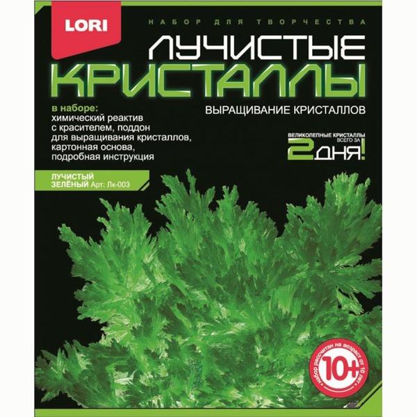 Набор ДТ Лучистые кристаллы Зеленый кристалл Лк-003 Lori купить оптом и в розницу