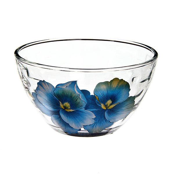 Салатник ″Голубая орхидея″ купить оптом и в розницу