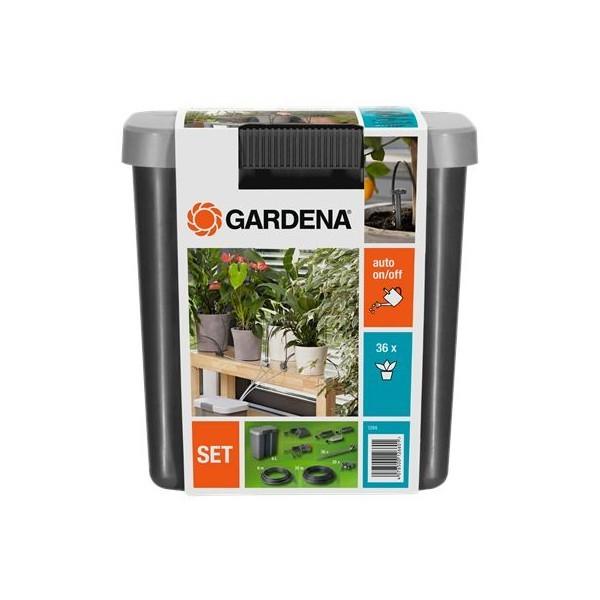 Комплект для полива в выходные дни с емкостью 9 л GARDENA 01266-20.000.00 купить оптом и в розницу