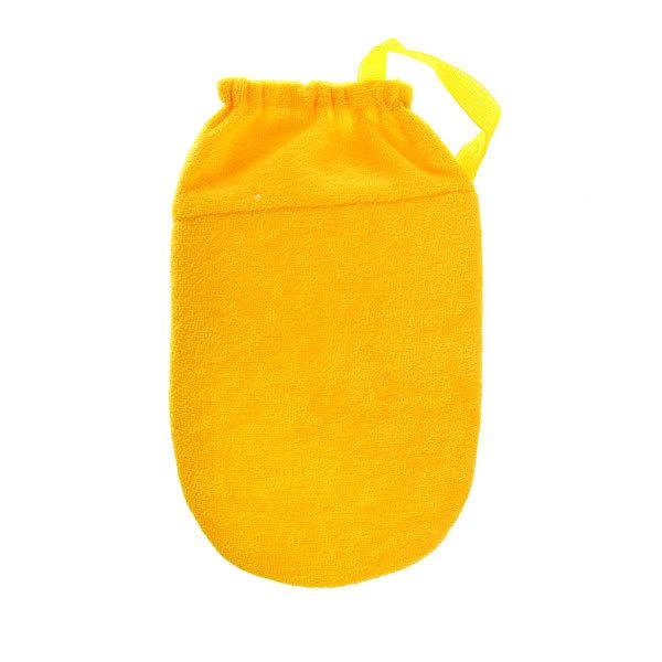 Мочалка-варежка для тела детская ″Vival″, мягкая, из люффы 19,5*13см купить оптом и в розницу