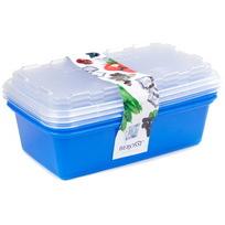 Набор контейнеров для заморозки ″Zip″ (джинс) купить оптом и в розницу