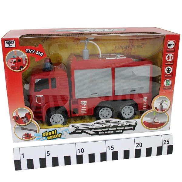 Машина инерц. 661-10 Пожарная в кор. купить оптом и в розницу