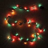 Гирлянда 5м, 50 ламп Мини, Мультицвет, 8 реж, зелен.пров. купить оптом и в розницу