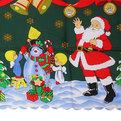 Скатерть ″Новогодний калейдоскоп″ 150*220см 11 Серпантин купить оптом и в розницу