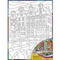 Набор ДТ Роспись по холсту Европейская улица Х-0336 купить оптом и в розницу