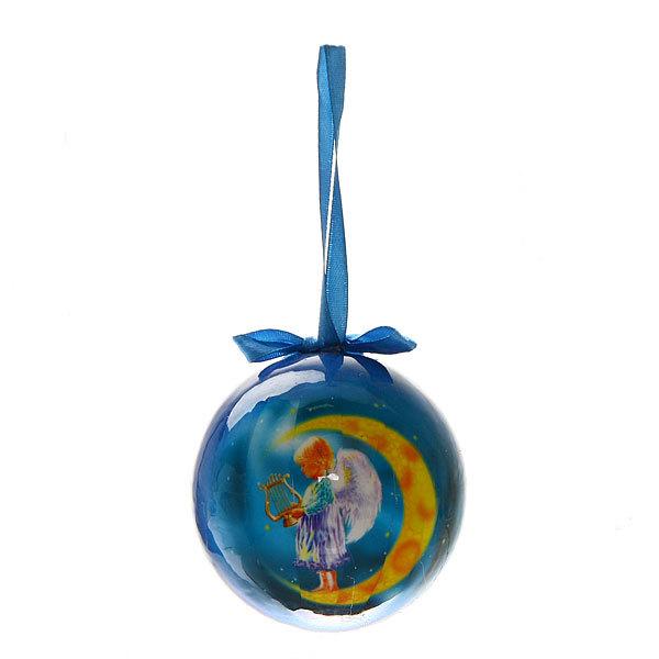 Новогодний шар ″Ангелочек″ 8см купить оптом и в розницу