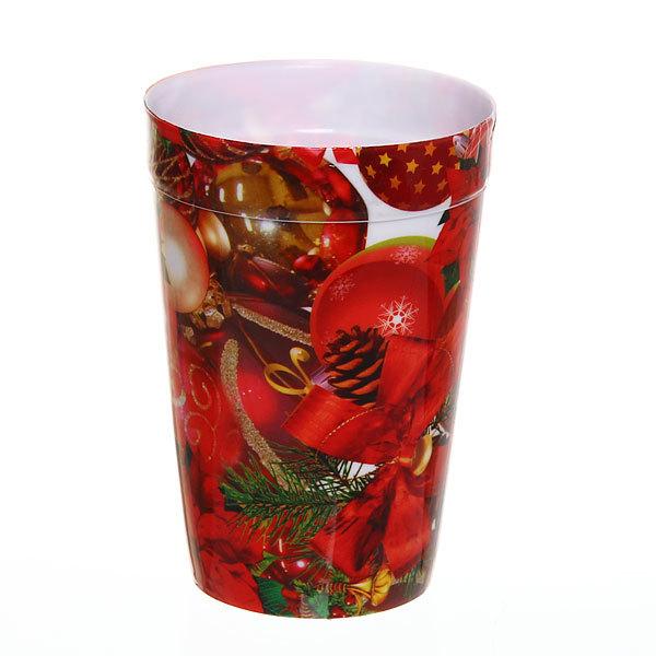 Стакан пластиковый 200мл ″Новый год″ купить оптом и в розницу