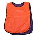 Манишка тренировочная (двухсторонняя, оранжевый/синий) купить оптом и в розницу