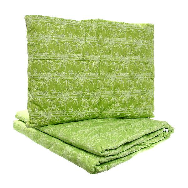 Комплект подушка 50*70см бамбук+одеяло 200*220 бамбук купить оптом и в розницу