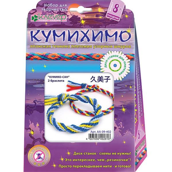 Набор ДТ Плетение Кумихимо Кумико-Сан 09-402АА купить оптом и в розницу