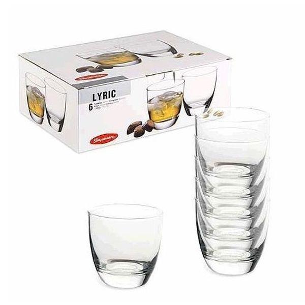 Набор стаканов д/виски ЛИРИК 6 шт. 370 мл. (1/8) купить оптом и в розницу