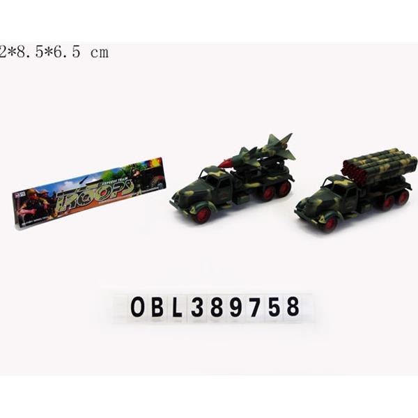 Машина инерц. 215-2 Военная в пак. купить оптом и в розницу