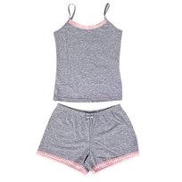 Пижама женская цвет меланжевый арт. 10 р-р 50 купить оптом и в розницу