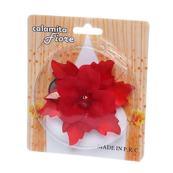 Подхват для штор на магните ″Орхидея бордоавя″ 9см S105 купить оптом и в розницу
