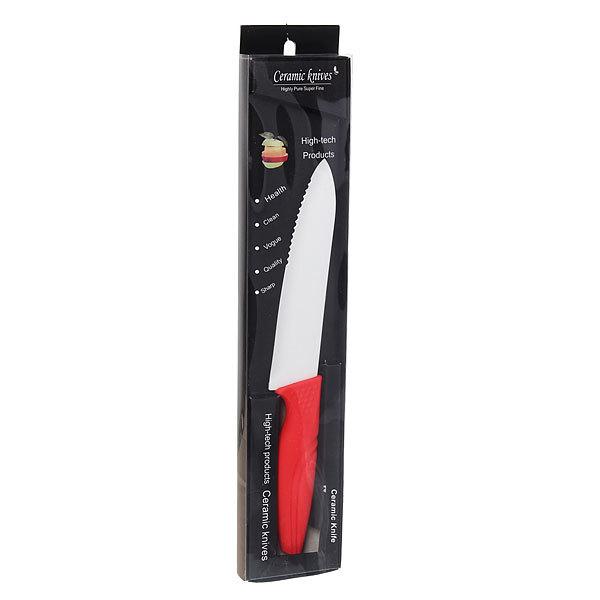 Нож кухонный керамический для хлеба 14см купить оптом и в розницу