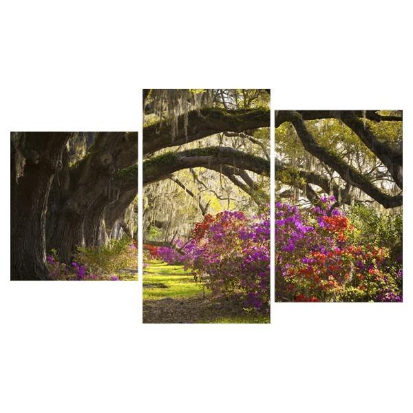 Картина модульная триптих 55*96 Природа диз.10 16-01 купить оптом и в розницу