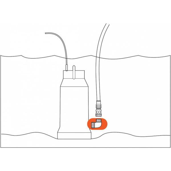 Фитинг к погружному насосу 1″ х 1″ GARDENA 01743-20.000.00 купить оптом и в розницу