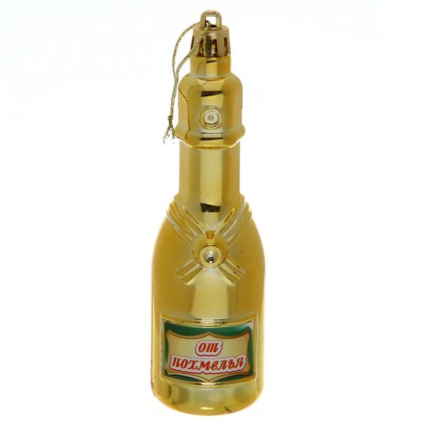 Ёлочная игрушка ″Шампанское ″От похмелья″ купить оптом и в розницу