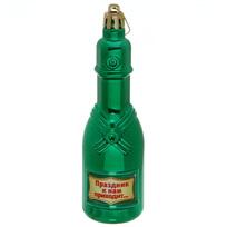 Ёлочная игрушка ″Шампанское ″Праздник к нам приходит...″ купить оптом и в розницу
