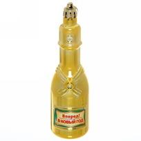 Ёлочная игрушка ″Шампанское ″Вперёд! В Новый год!″ купить оптом и в розницу