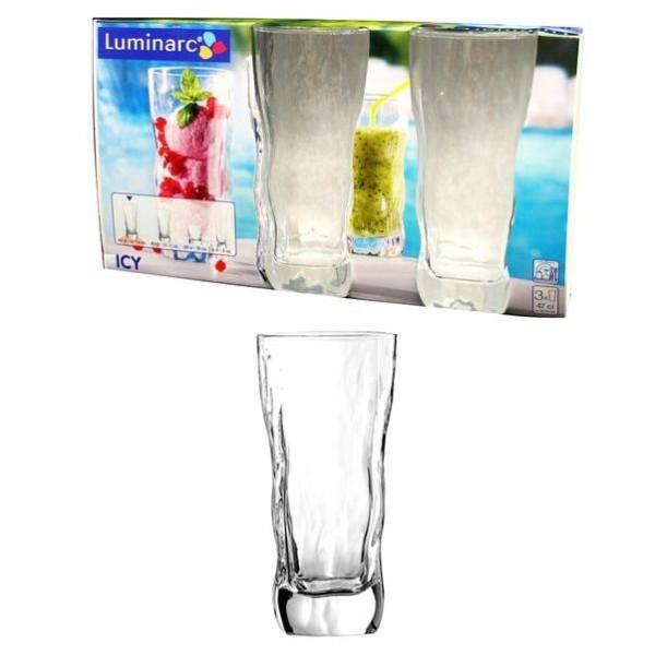 Набор стаканов 3шт 470мл ″Айси″ высокие (1/5) G2762 купить оптом и в розницу
