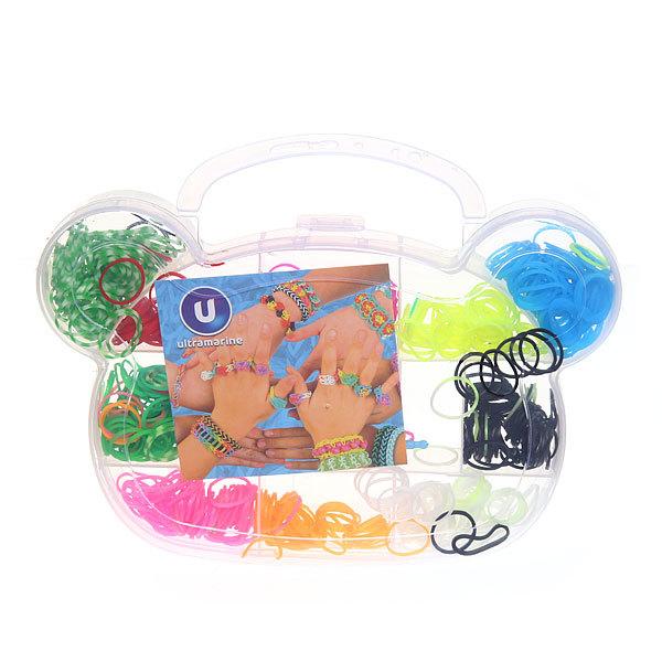 Набор резинок для плетения браслетов 600штук 10 цветов Мишка купить оптом и в розницу