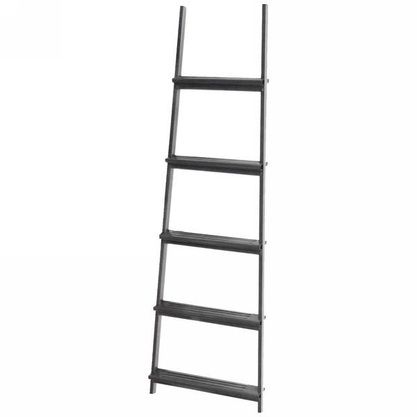 Лестница приставная металическая 5 ступеней, длина 150 см, шаг ступени 27 см, вес 3,5 кг купить оптом и в розницу