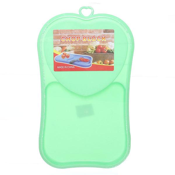 Доска разделочная пластиковая 40*23 с бортом Сердце 149 купить оптом и в розницу