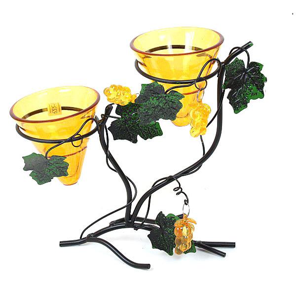 Подсвечник ″Виноградная лоза″, на 2 свечи купить оптом и в розницу