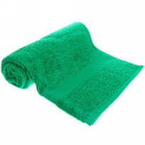 Махровое полотенце 70*140см ярко-зеленое ЭК140 Д01 купить оптом и в розницу