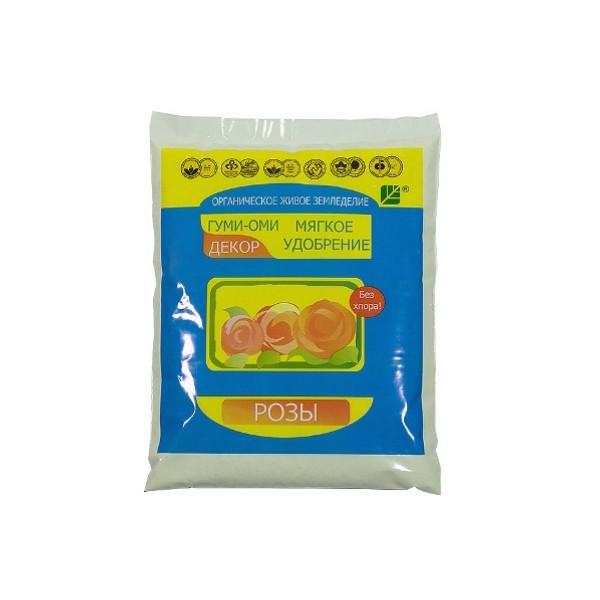 Удобрение органическое 0,5 кг (порошок) Гуми-Оми Розы купить оптом и в розницу