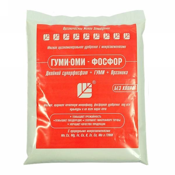 Удобрение Гуми-Оми-Фосфор ″Суперфосфат″ (порошковый)0,5 кг/25шт купить оптом и в розницу