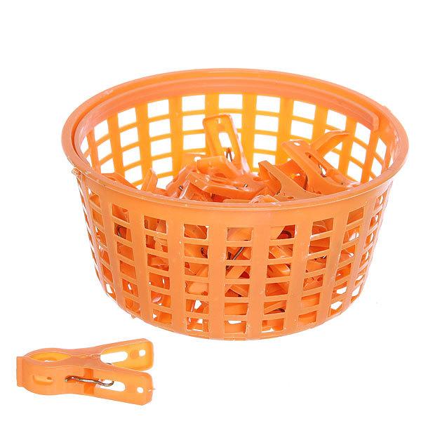 Прищепки пластиковые в корзине 424-613 (24шт.) купить оптом и в розницу