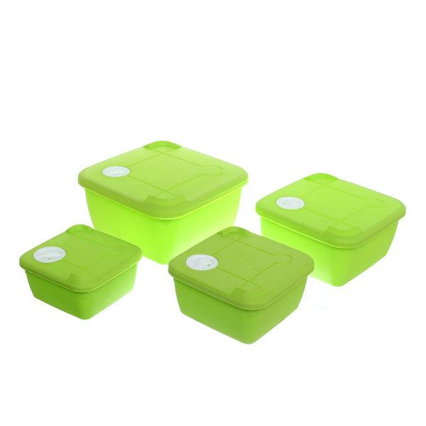 Набор контейнеров 4шт ″Нежность″ (1) купить оптом и в розницу