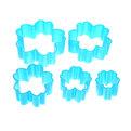 Форма для печенья 5шт ″Тюльпан″в пластиковой коробке BBW-LL002 купить оптом и в розницу