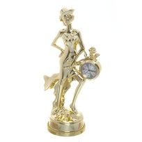 Часы сувенирные ″Девушка в шляпке″ OKA01018 под золото купить оптом и в розницу