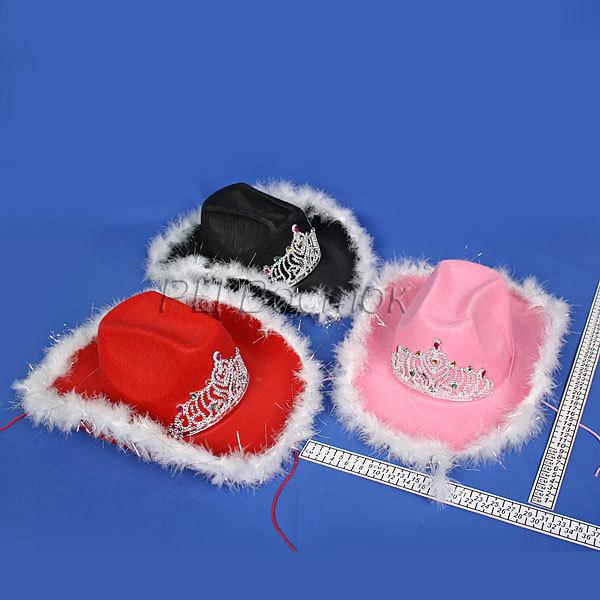 Шляпа карнавальная ″Гламурная ковбойша″ купить оптом и в розницу