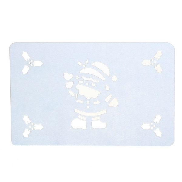 Салфетка на стол 44*28см ″Снеговик″, фетр купить оптом и в розницу
